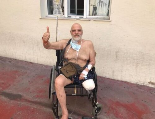 Γιώργος Βούρος: Το μήνυμα του ηθοποιού μετά τον ακρωτηριασμό του ποδιού του
